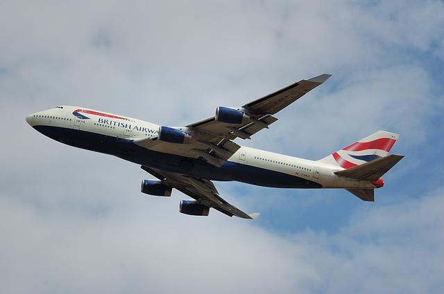British Airways Boeing747-400 3