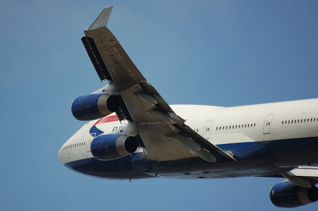 British Airways Boeing747-400 4