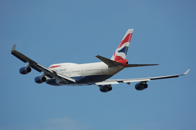 British Airways Boeing747-400 5