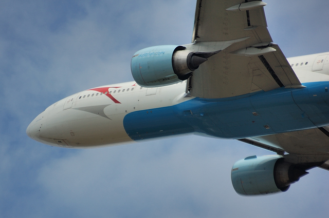 オーストリア航空 Boeing777 3
