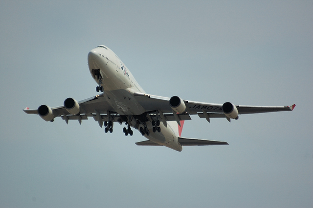 JAL Boeing747-400 2