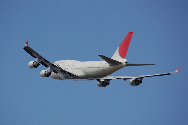 JAL Boeing747-400 4