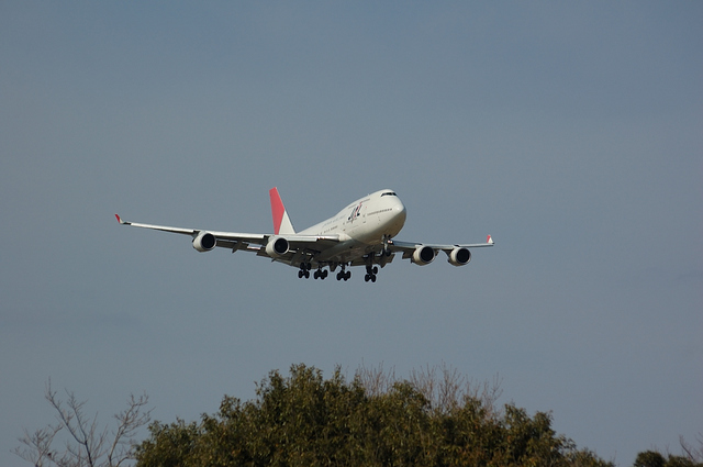 JAL Boeing747-400 5