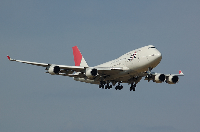 JAL Boeing747-400 6