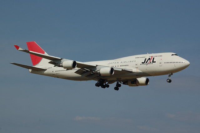 JAL Boeing747-400 7