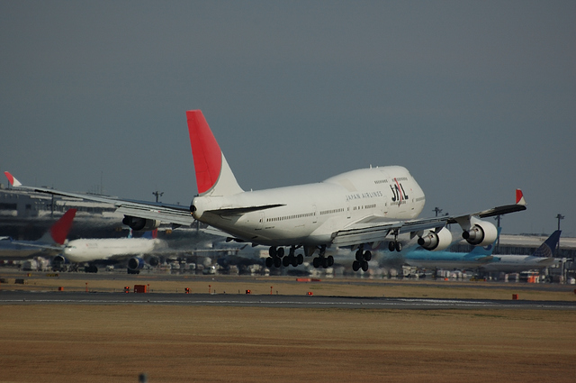 JAL Boeing747-400 8