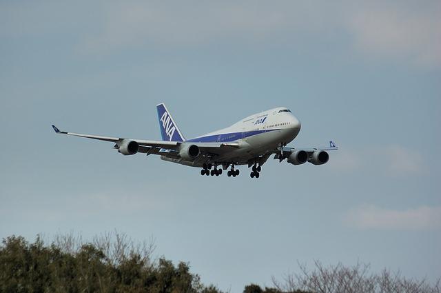 ANA Boeing747-400 1