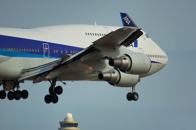 ANA Boeing747-400 3