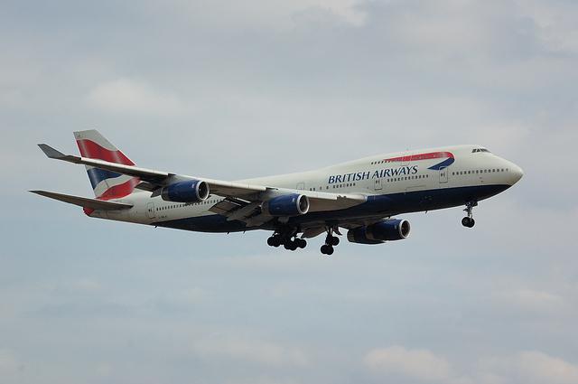 英国航空Boeing747-400