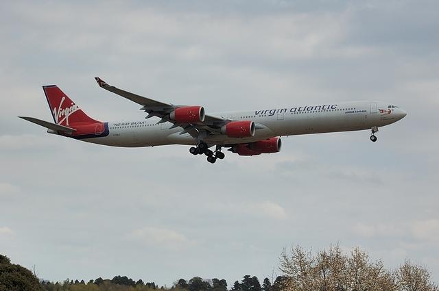 バージン・アトランティック航空 Airbus A340