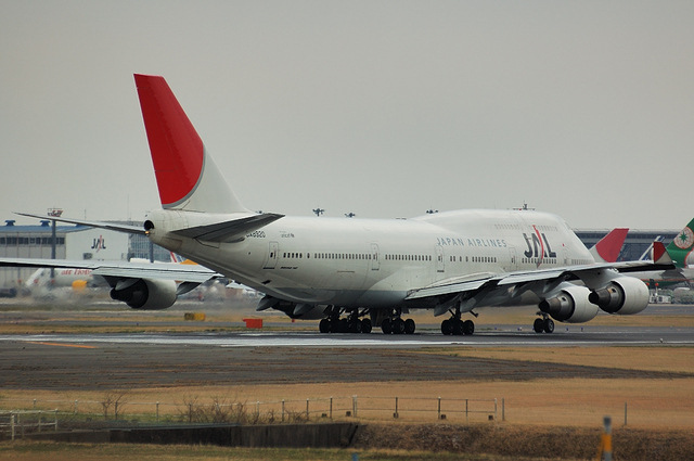 JAL Boeing747-400 3