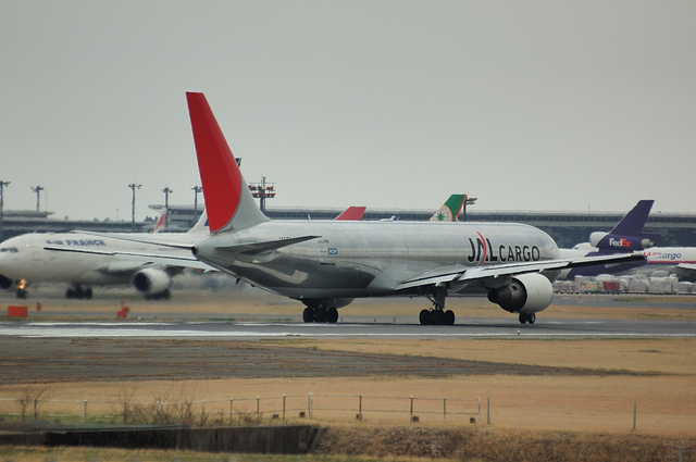 JAL Boeing767F CARGO 2