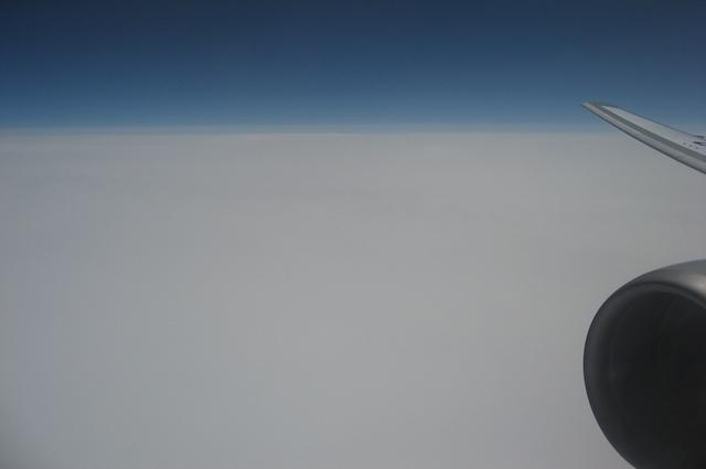 一面の雲海