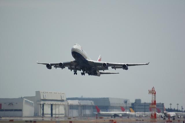 British Airways Boeing747-400 1