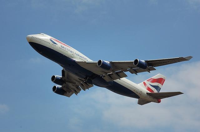 British Airways Boeing747-400 2