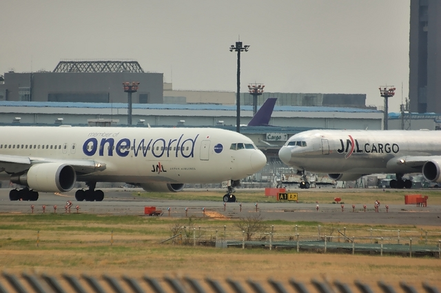 JAL Boeing767 One World and CARGO