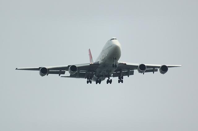 JAL Boeing747 RWY22 Approach 2