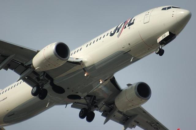 JALのBoeing737