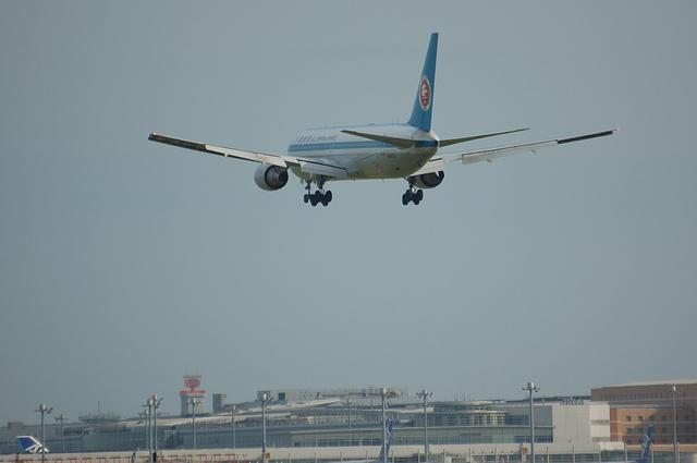 ANA モヒカンジェット RWY16L Approach 4