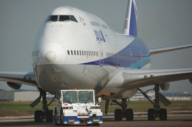 Boeing747-400の顔 1