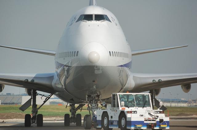 Boeing747-400の顔 2