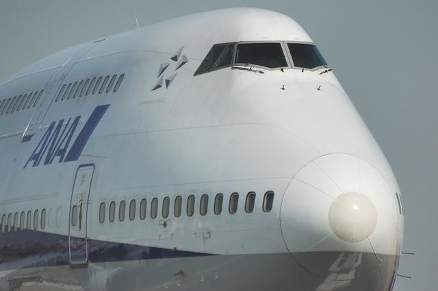 Boeing747-400の顔 3
