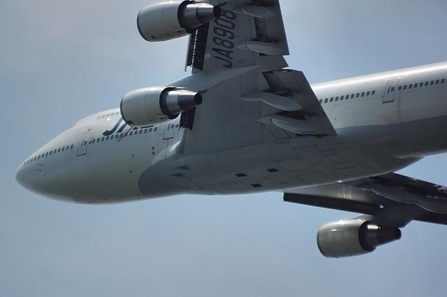 JAL Boeing747-400D 離陸 2