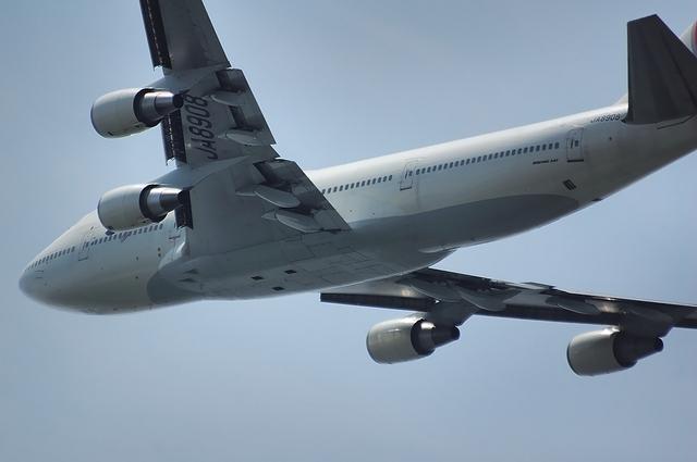 JAL Boeing747-400D 離陸 3