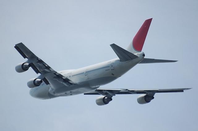JAL Boeing747-400D 離陸 4