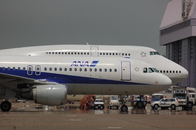 A320とB747