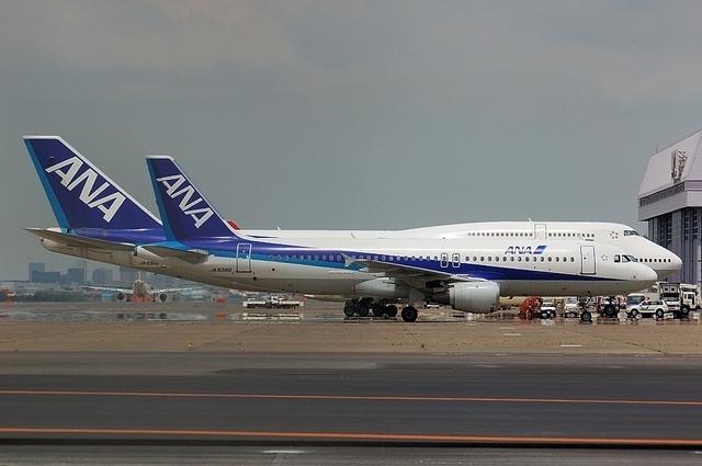 A320とB747全身比較