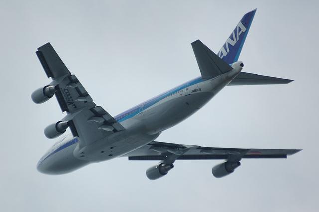 ANA Boeing747-400 RWY16R Take Off 3