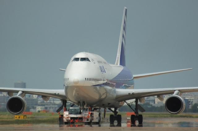 ANA Boeing747-400D 3