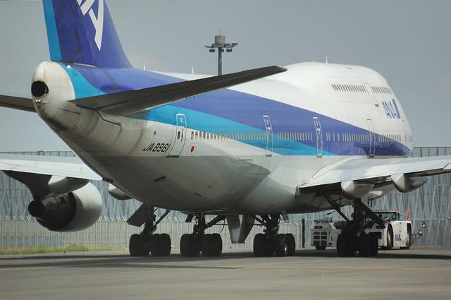 ANA Boeing747-400D 5