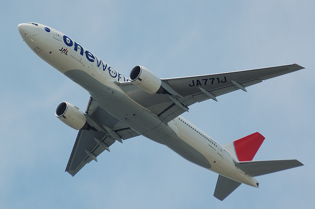 JAL Boeing777-200 One World塗装 1