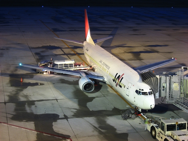JAL Boeing737