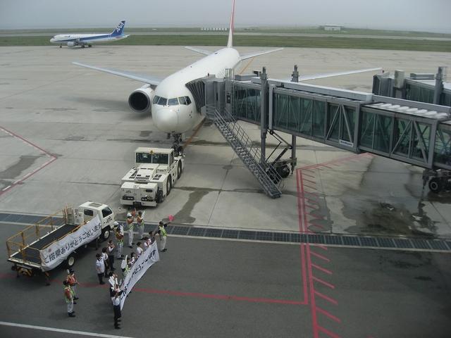 JALのお見送り 2