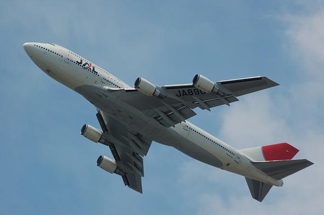 JAL Boeing747-400D 離陸 1