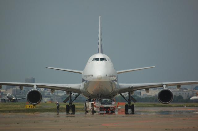 ANA Boeing747-400D 1