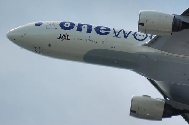 JAL Boeing777-200 One World塗装 2