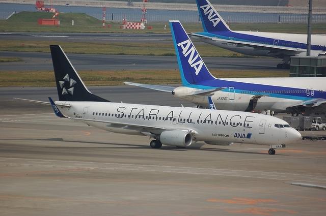 ANA Boeing737-800 Star Alliance 1