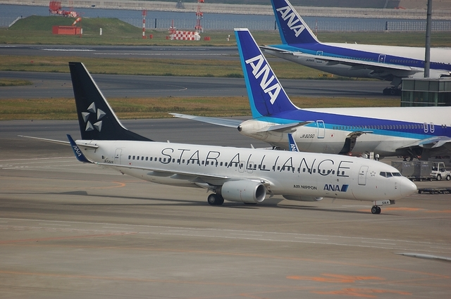ANA Boeing737-800 Star Alliance 1