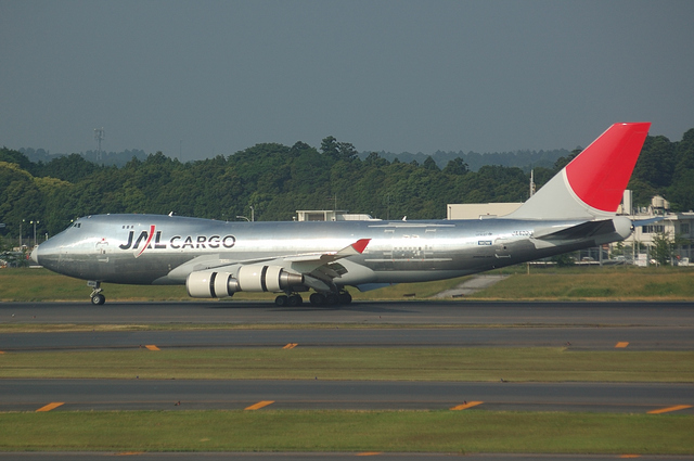 JAL CARGO Boeing747-400F 2