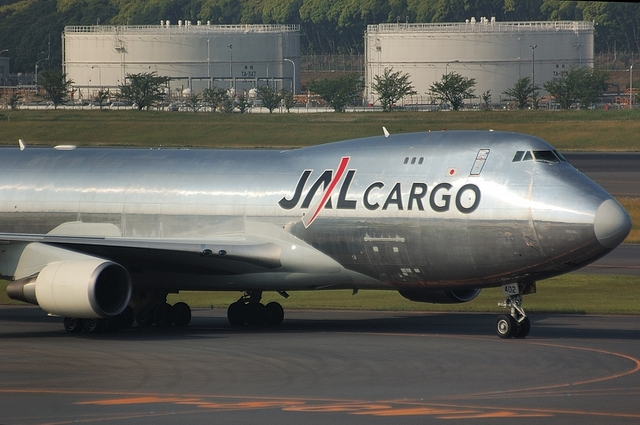 JAL CARGO Boeing747-400F 3