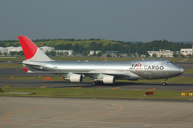 JAL CARGO Boeing747-400F 4