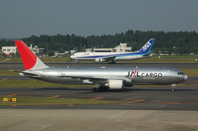 JAL CARGO Boeing767-300F 4