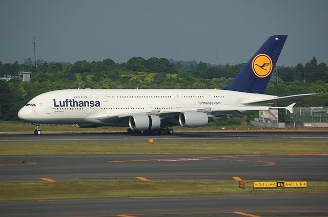 ルフトハンザ Airbus A380 2