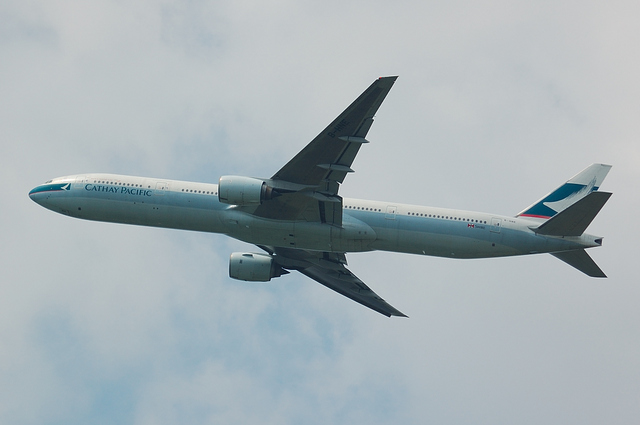 Cathay Pacific Airways Boeing777-300 3