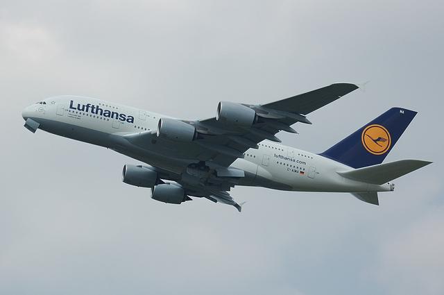 ルフトハンザ Airbus A380 8