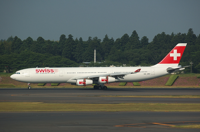 SWISS Airbus A340-300 2